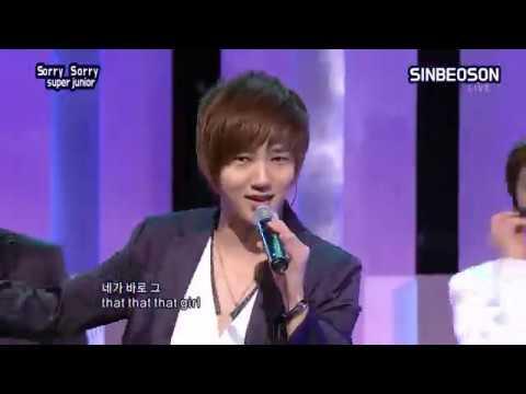 SUPER JUNIOR 슈퍼주니어 '쏘리쏘리 SORRY SORRY' 교차편집 (stage mix)