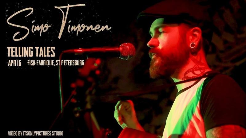Simo Timonen acoustic live set @ Fish Fabrique 16.04.2019