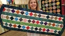 SCRAPS NO MORE Donna's Scrap Buster Table Runner