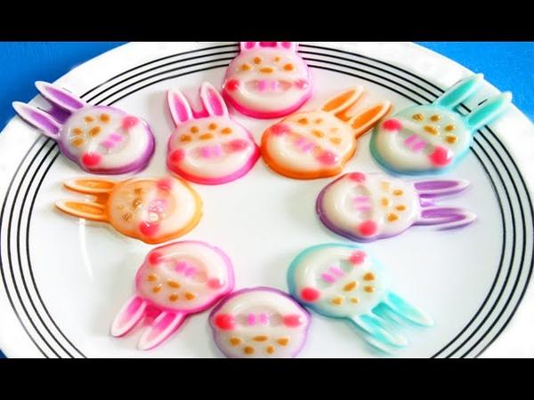 วิธีทำวุ้นกระต่าย แสนน่ารัก - How to make Rabbit jelly | วุ้นแฟ