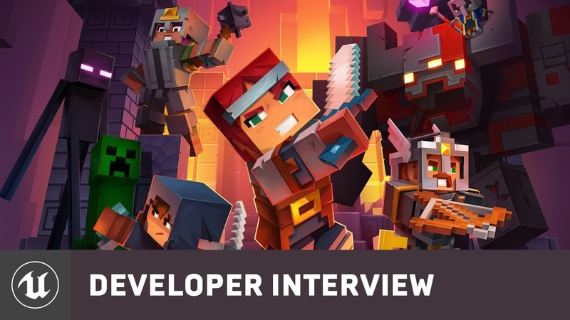 Minecraft Dungeons by Mojang | E3 2019 Developer Interview | Unreal Engine