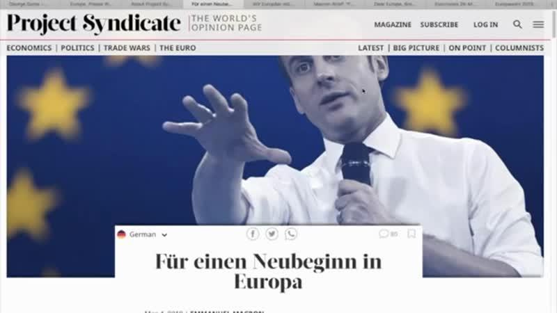 Project Syndicate- Soros kontrolliert unsere Medien