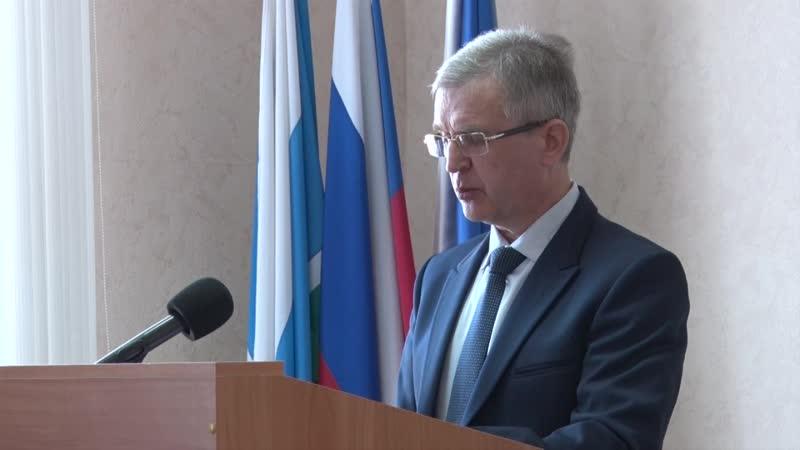 Доклад Ю А Колпакова о подготовке к весеннему паводку в ПГО