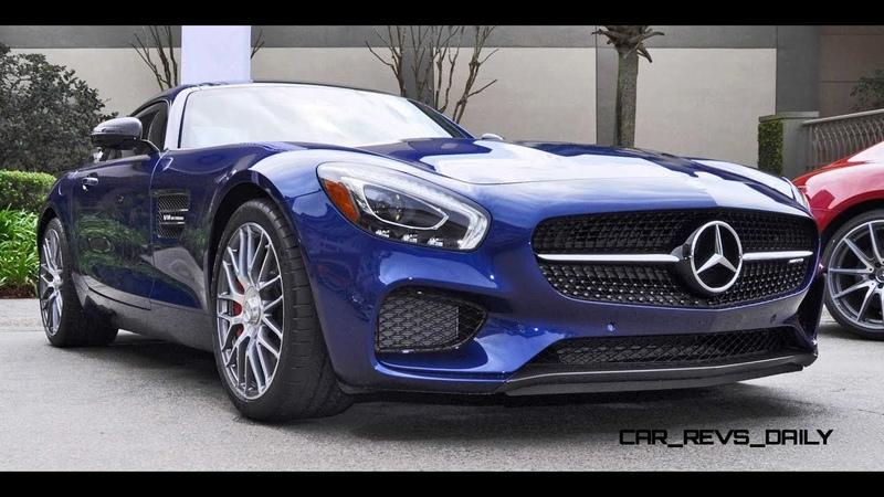 Тест Драйв Огонь Top Mersedes Benz AMG