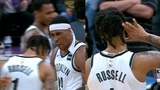 D'Angelo Russell on fire &amp makes the Nets players go crazy in EPIC game vs Kings