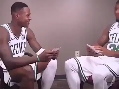 """Should the celtics bring the team from last season and run it back☘️"""""""