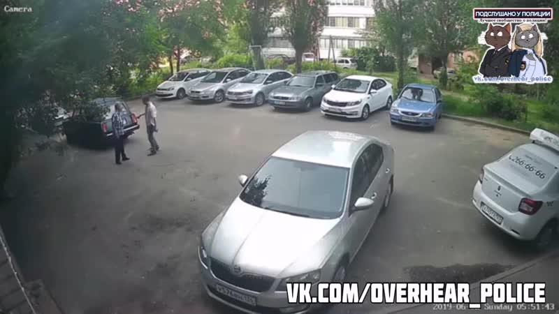 В Воронеже бухой утырок избил деда из за замечания