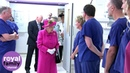 The Queen Meets With Staff and Patients at Cambridges New Papworth Hospital