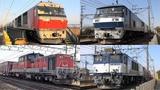 2018,2,9 貨物列車 いろいろいっぱい17本 大迫力の唸るモーターとディーゼルエ&#