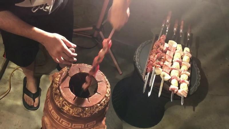 Armenian Electric Tonir BBQ Armenian Inspired Dish