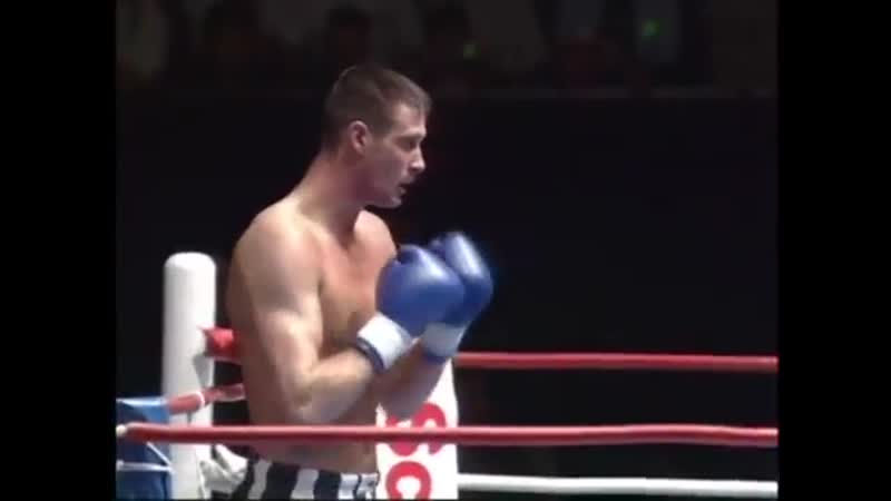 WORLD GP К-1 1994 Питер Аертс - Роб Ван Эсдонк Peter Aerts vs Rob van Esdonk