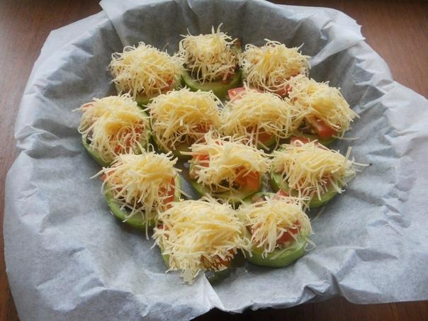 Рецепт кабачков с шампиньонами.