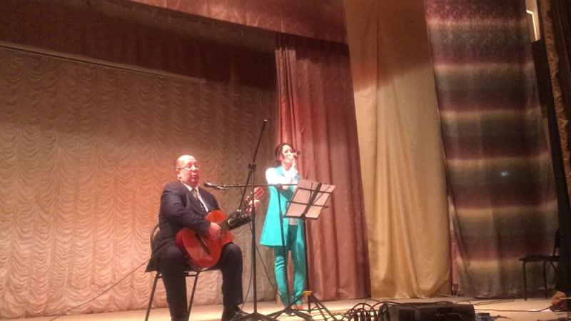 Концерт Слов связующая нить - выступление Олеси Макушкиной и Александра Дрозда
