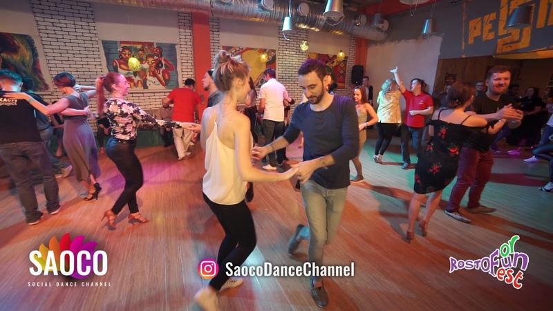 Pako Sanmartin and Lady Salsa Dancing at Rostov For Fun Fest 2018, Monday 05.11.2018 (SC)