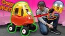 Worlds FASTEST Little Tikes Cozy Coupe 50 mph RC Car CRASH