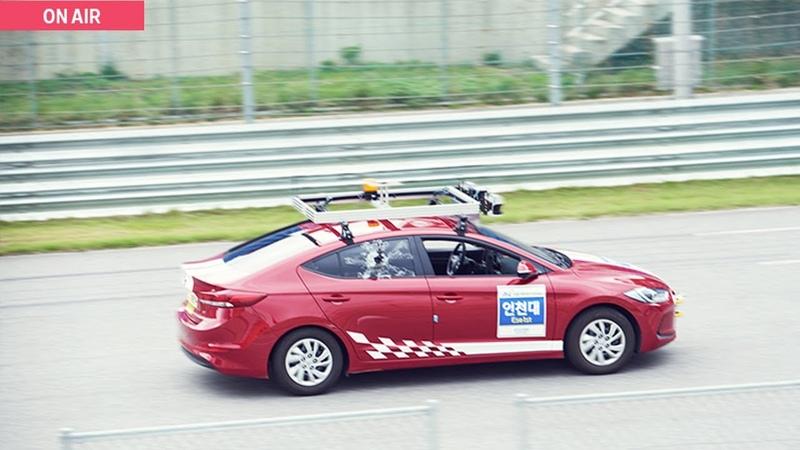 [HMG TV]자율주행 자동차들의 레이스 현장! -대학생 자율주행차 경진대회