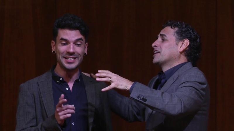 Masterclass Canto Juan Diego FLÓREZ (1) Donizetti: Don Pasquale