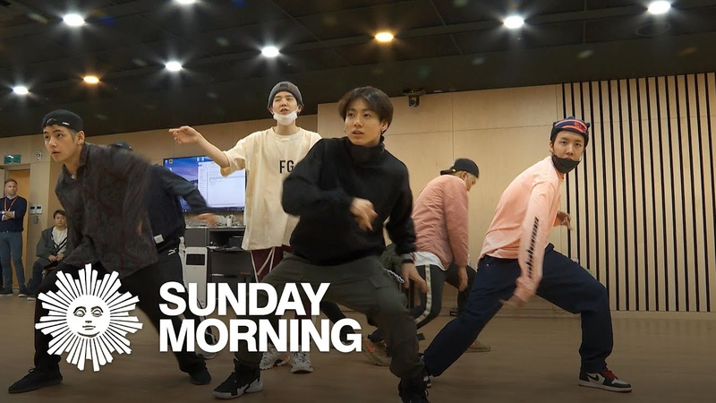 BTS rehearses choreography of Boy With Luv