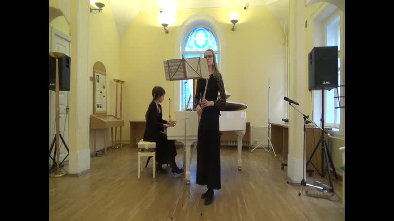К Райнеке Концерт для флейты с оркестром перелож е для ф но 1 часть