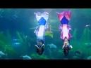 Vinpearl Phu Quock Aquarium Mermaid show Chương trình biểu diễn nàng tiên cá hồ bơi biển 4K