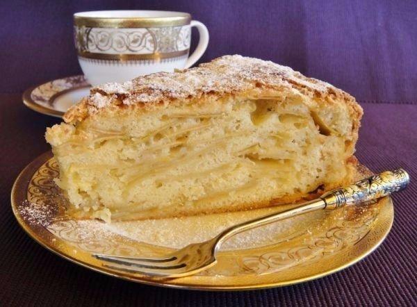 """Яблочный пирог """"Шарлатанка"""". Вкусная выпечка к чаю!"""