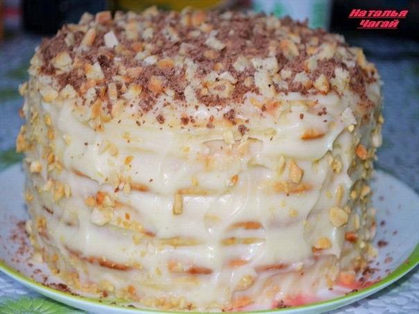 Рецепты вкуснейших тортов! Просто РАЙ для сладкоежек!)