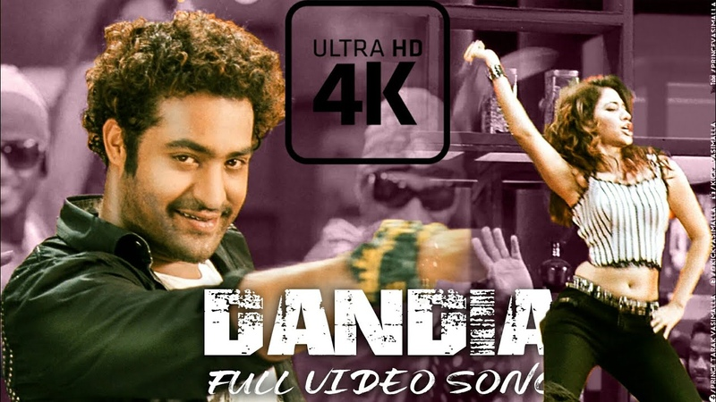 Dandiya Full Video Song | 4K | Oosaravelli Telugu Movie | Jr NTR, Tamanna, DSP, Surender Reddy