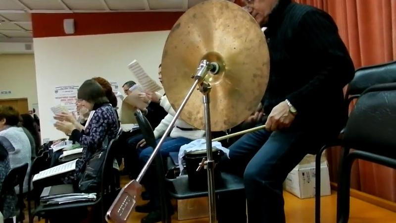 Данил Хасаншин Концерт оратория для солистов, хора и симфонического оркестра.