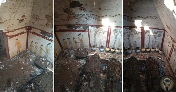 Китай: под детской площадкой обнаружена древняя гробница