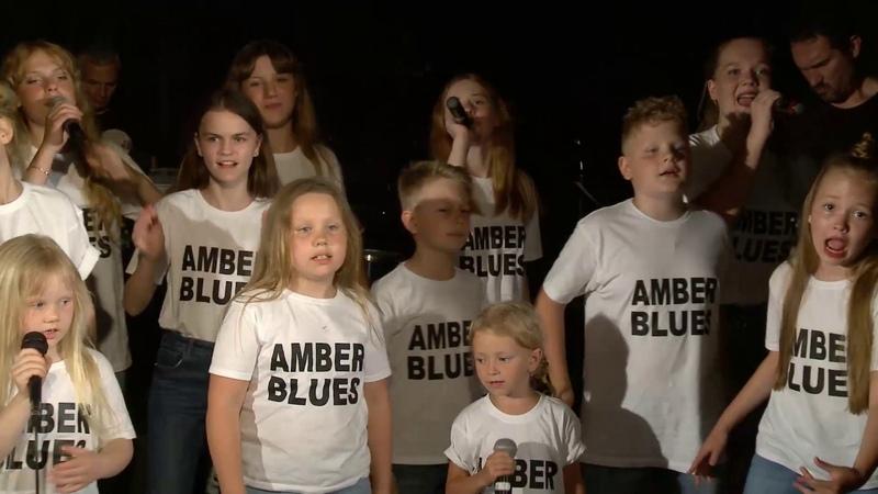 Amber Blues Kids Anna Grin Band