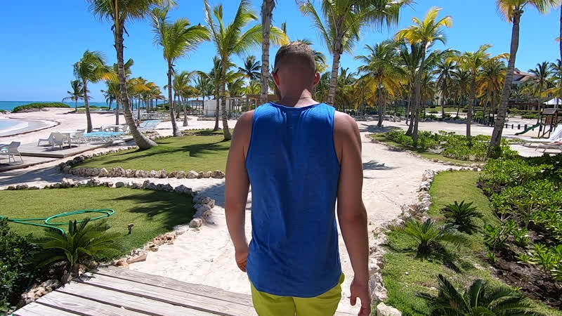 Juanillo beach, Cap Cana _ Как я заблудился