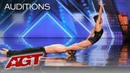 AGT's SEXIEST Audition?! Acrobatic Dance Duo Excites The AGT Judges - America's Got Talent 2019