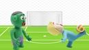 JOHNY JOHNY YES PAPA - BABY HULK YOUNGER SISITER PLAY FOOTBALL - PLAYDOH CARTOON FOR KIDS