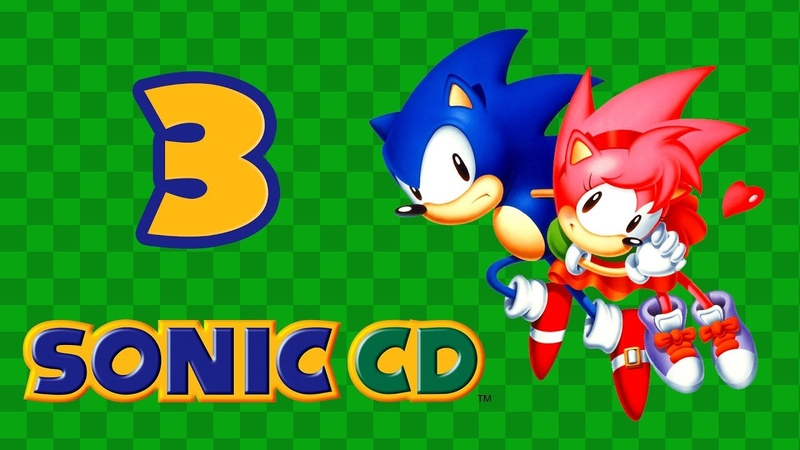 Sonic CD - Прохождение игры на русском - Wacky Workbench, Stardust Speedway [3]