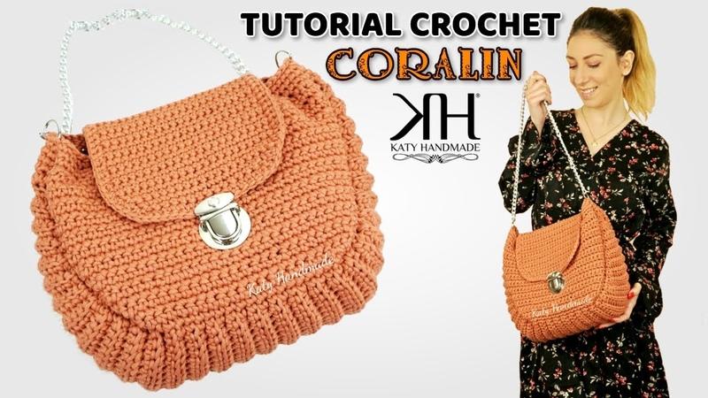 TUTORIAL BORSE UNCINETTO - CORALIN CROCHET BAG ♡ Katy Handmade