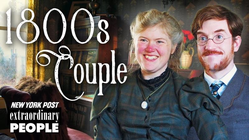 Victorian Era Couple Live Like It's The 19th Century | Extraordinary People | New York Post