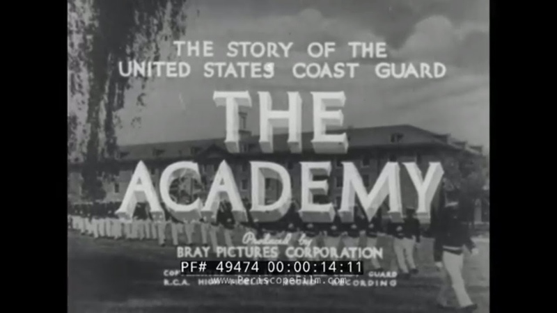 1930s UNITED STATES COAST GUARD ACADEMY DOCUMENTARY NEW LONDON, CONNECTICUT (PRINT 2) 49474
