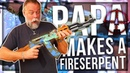 PAPA MAKES AN AK FIRE SERPENT IN REAL LIFE