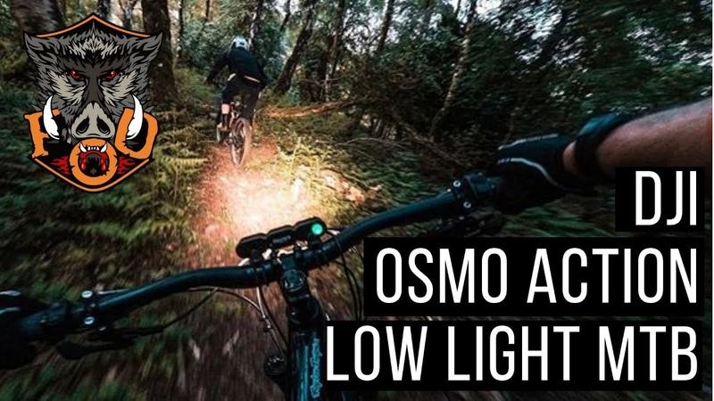 DJI Osmo Action Camera Low Light MTB