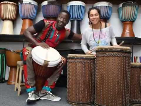 Drumskull Drums, Babara Bangoura, Sahar K. - Guinea Lenke Djembe