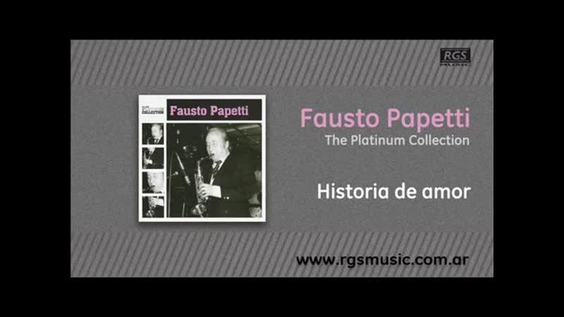 Fausto Papetti - Historia de amor