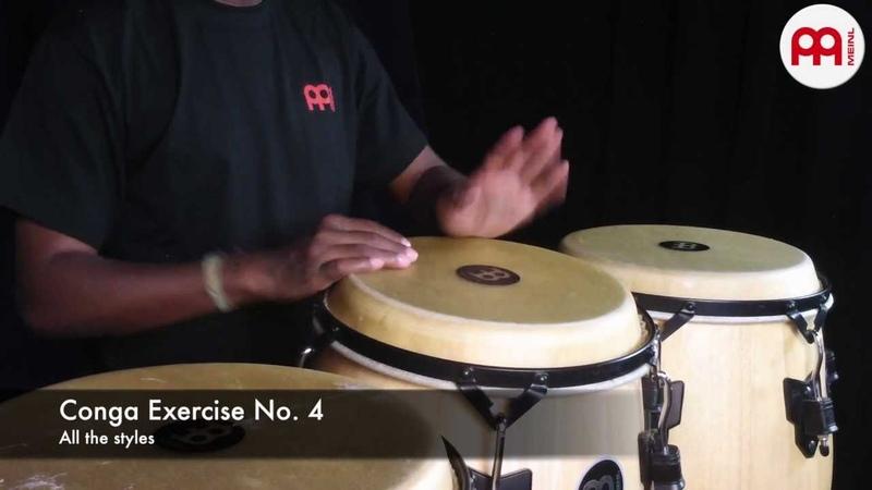 Rodny Theran Paz Conga Exercises MEINL Percussion