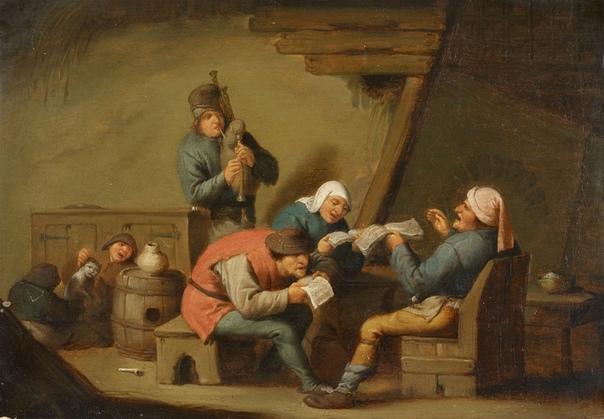 Адриан ван Остаде ( Adriaen van Ostade,10 декабря 1610 - 1685 )