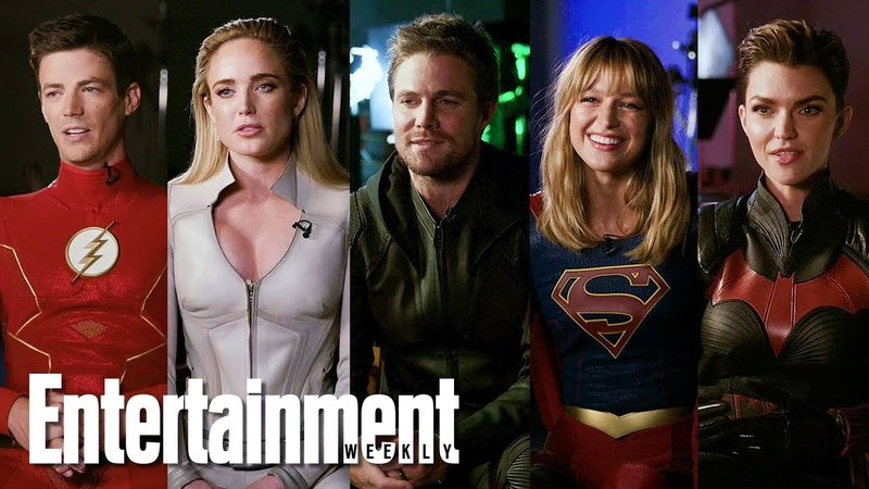 Arrowverse Superheroes Say Goodbye to Stephen Amell | Entertainment Weekly
