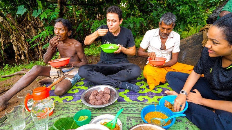 Unseen Food in Sri Lanka - INDIGENOUS VEDDA TRIBE!