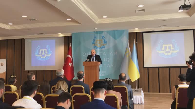 В Анкаре открылся ІХ Курултай крымскотатарской молодёжи