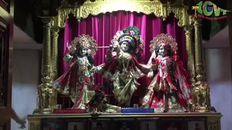 Шрипад БВ Шридхар Махарадж - 06.04.2019, Мангала-арати (Дели)