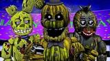 Five Nights at Freddy's Song (FNAF 3 Phantom SFM)(Thunder Remix)