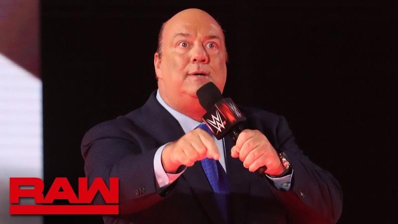 "The Kingslayer Paul Heyman interrupts Seth Rollins during his appearance on Miz TV"" Raw Reunion July 22 2019"