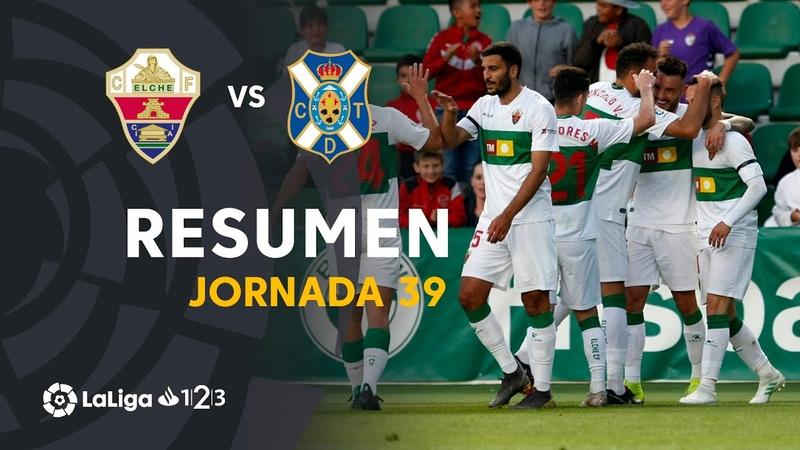 Эльче CF - CD Тенерифе, 3-0, Сегунда 2018-2019, 39 тур